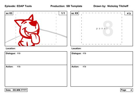 free flash animation templates the edap tools storyboard template free
