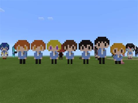 this was my show ouran high school host club minecraft