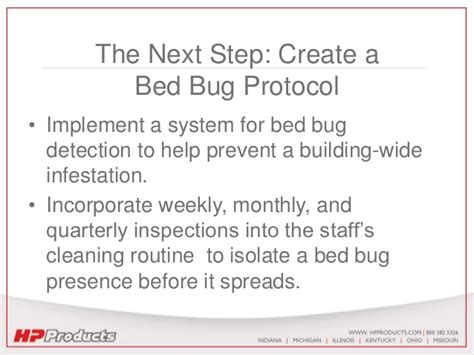 bed bug protocol bed bug prevention playbook