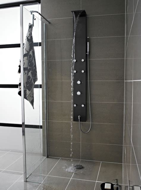 Shower Jet by Mix Waterfall Shower Panel With 6 Jets Modern