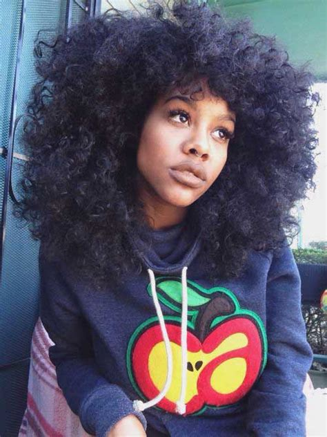 afro hairstyles for long hair 30 best afro hair styles hairstyles haircuts 2016 2017
