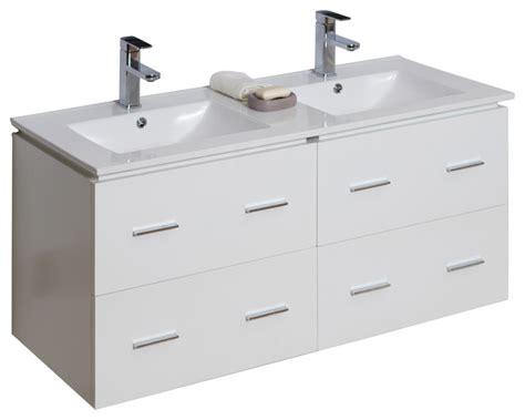 plywood bathroom vanities plywood veneer vanity set in white 48 quot x18 quot modern bathroom vanities and sink consoles