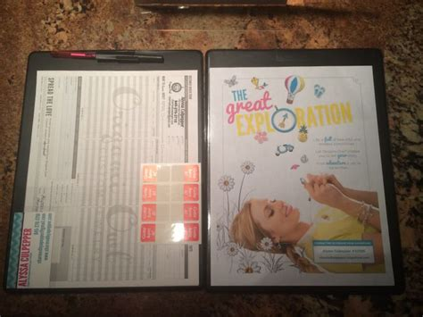 Origami Owl Order Form - origami owl lapboard i put in the front the current