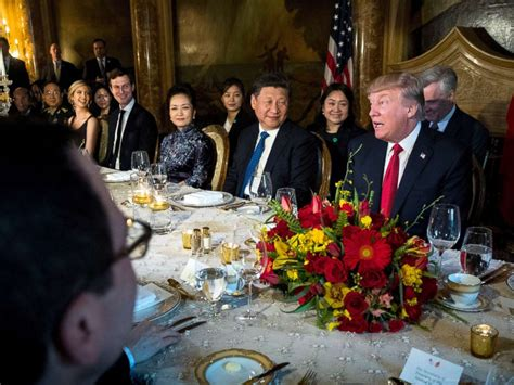 donald trump visit china dinner diplomacy what s on the menu when trump dines with