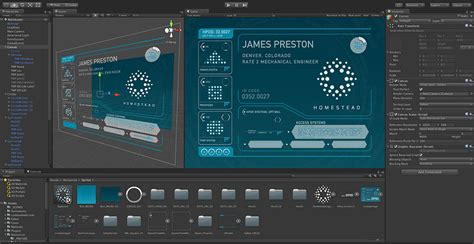 unity layout ui the passengers movie used the unity game engine for its