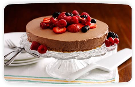 Fruit Cheese Cake philadelphia chocolate and fruit cheesecake a cheese recipe