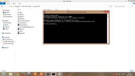 tutorial hack lewat cmd tutorial decompile recompile apk dengan benar lewat pc