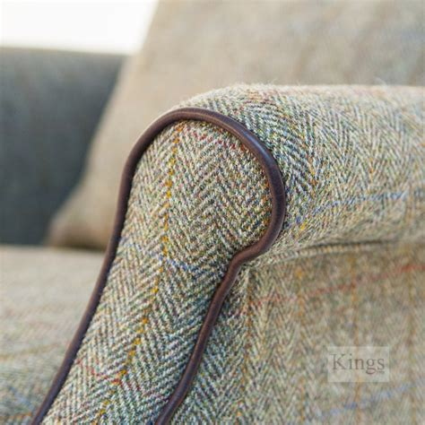 harris upholstery tetrad harris tweed bowmore chair
