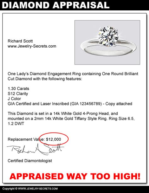how much do jewelry appraisers make diamonds are a rip jewelry secrets