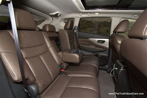 nissan murano interior 2015 nissan murano exterior side cr2 the truth about cars
