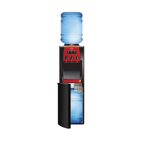 Dispenser Galon Bawah Arisa harga sanken hwd z88 hitam merah water dispenser galon