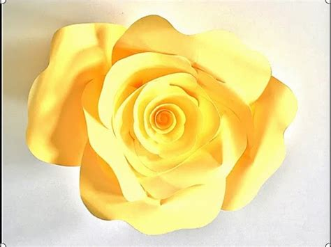 Easy Way To Make Paper Roses - how to make paper roses or flowers easy way to make