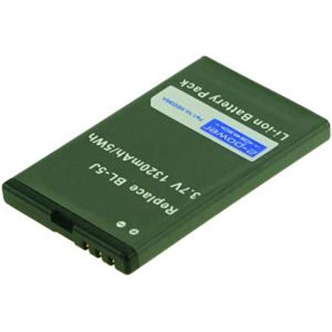 Baterai Power One Nokia 5j nokia bl 5j battery alternative products