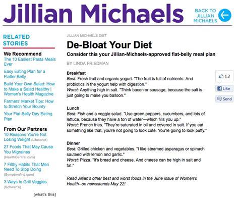 Jillian Detox Plan by De Bloat Your Diet Discover More Ideas About Michael O