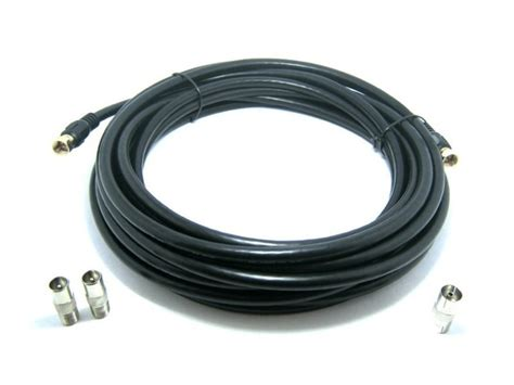coax cable used for outdoor tv antennas cable tv and satellite tv http californiacabletv net