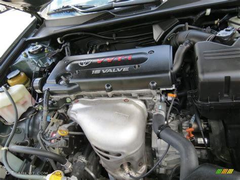 Toyota 4 Cylinder Engines 2004 Toyota Camry Le 2 4 Liter Dohc 16 Valve Vvt I 4