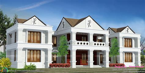 arabic style house plan in india kerala home design and