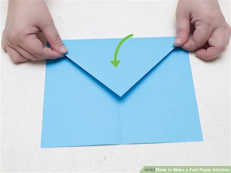 How To Make A Really Fast Paper Airplane - how to make a fast paper airplane 15 steps with pictures