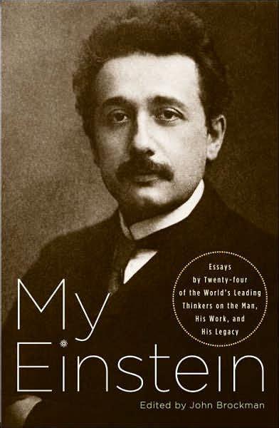 einstein biography barnes and noble my einstein by john brockman paperback barnes noble 174