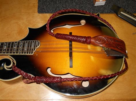 Handmade Mandolin - crafted custom braided mandolin straps by nay s