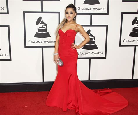 Do You Get Money For Winning A Grammy - ariana grande styles out her awkward grammys pun look