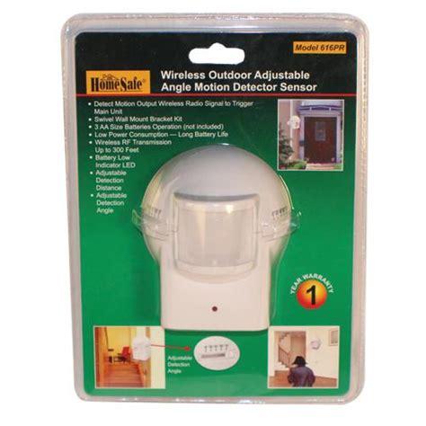 backyard motion sensor alarm outdoor homesafe wireless home security motion sensor