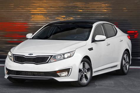 New Kia Optima Hybrid 2012 Kia Optima Hybrid Overview Cars