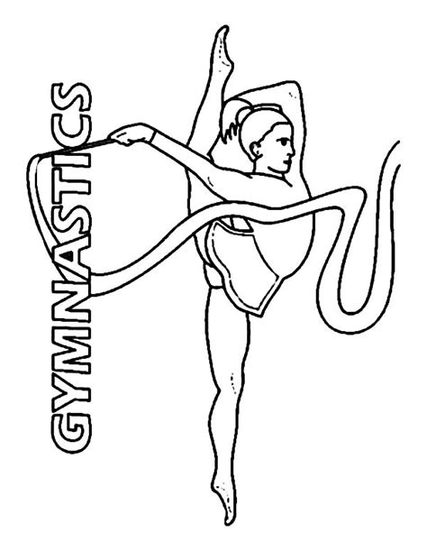 gymnastics bars coloring pages coloring pages