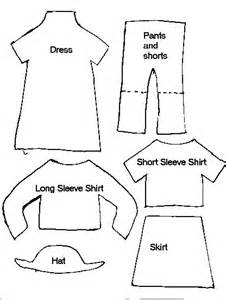 Clothing Templates by Sewing Libraries Paper And Clothes