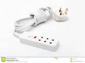 electric power extension cord stock image image 31167791