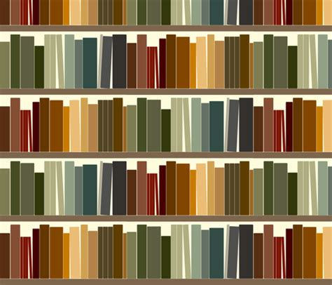 basic bookshelf fabric avelis spoonflower