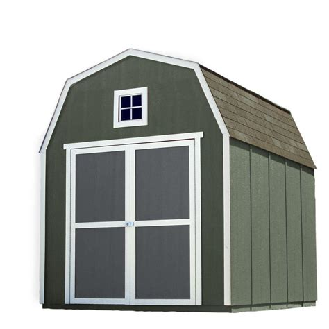 handy home products installed montana 8 ft x 10 ft wood