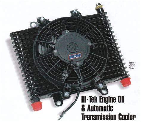 b m cooler with fan b m 70297 b m hi tek engine cooler transmission cooler