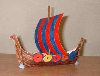 How To Make A Viking Longship Out Of Paper - model ships