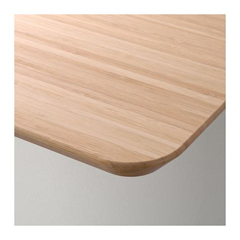 hilver table top bamboo 140x65 cm ikea