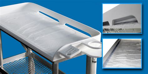 how to clean metal table fish cleaning tables marina products equipment