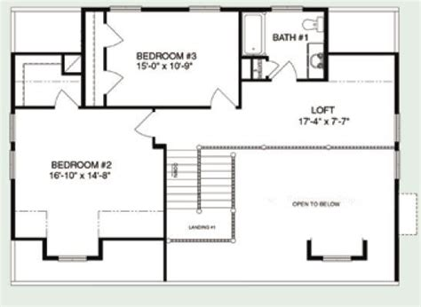 Expressmodular by Brook View Plan C Aml 022 2215 Square Foot Cape