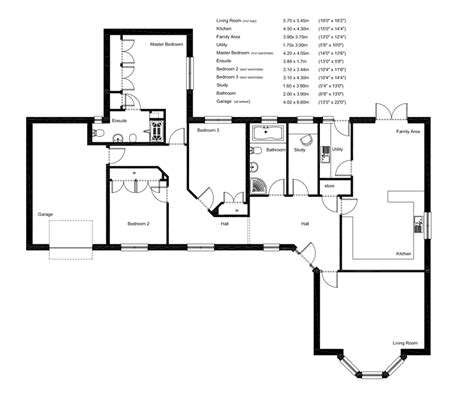 uk house floor plans hartfell homes liddesdale bungalow new build elegant