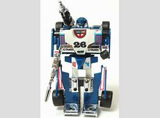 Pay no attention to the Formula 1 race car, he's a spy. G1 ... G1 Transformers Mirage Review