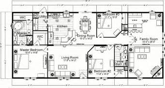 Double Wide Floor Plans Floor Plans For Mobile Homes Double Wide 24 215 60 4 Bedrooms