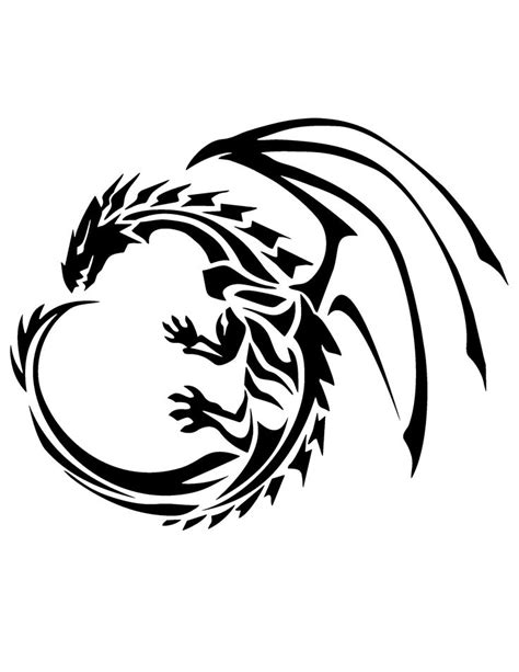 free dragon tattoo designs to print 1000 images about designs on tribal
