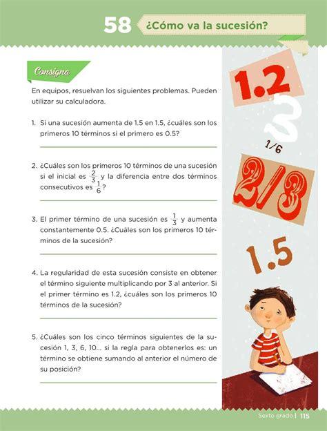 libro de matematicas pagina 97 a la 116 contestado libro de matematicas de 5 paginas 114 116 libro de