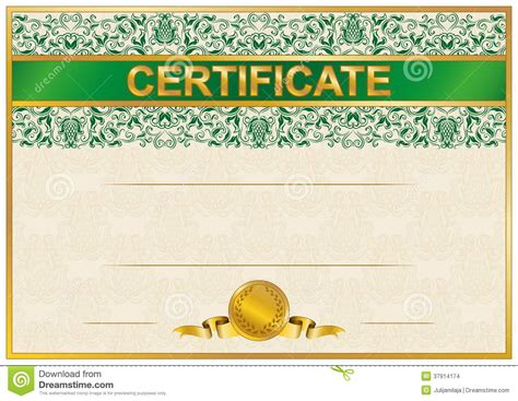 graduation borders templates free elegant template of certificate diploma stock images