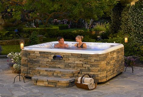 above ground tub landscaping tubs jacuzzis