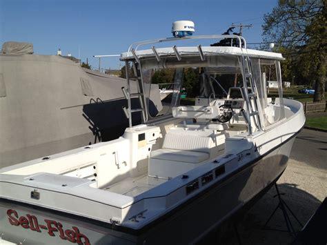 center console boats diesel albin 27 5 diesel center console walkaround the hull