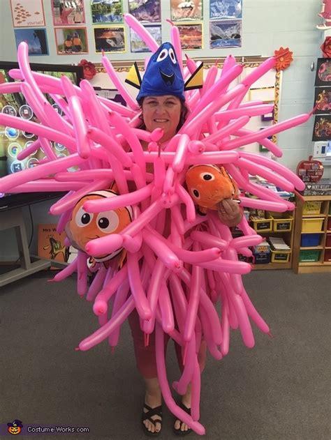 homemade sea anemone costume