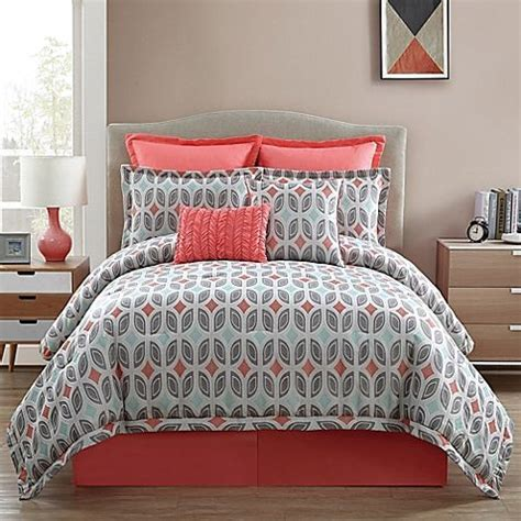 Coral And Gray Bedding by 25 Best Ideas About Coral Bedspread On Coral