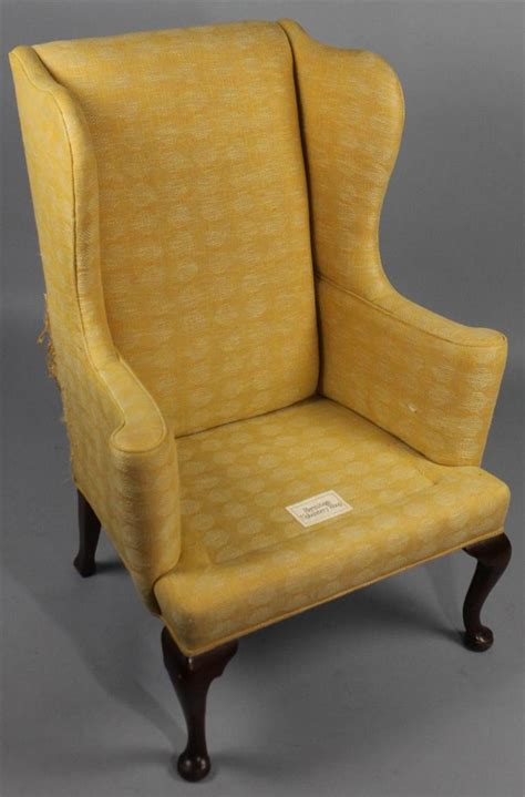 Chintz Armchair by Style Wing Chair With Chinoiserie Chintz Slip Cov