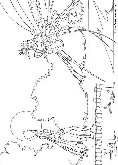 Dibujos para colorear de Arthur y la guerra de los dos mundos