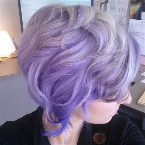 show soft lavender hair color for women 60 years ol purple ombre hair ideas plum lilac lavender and violet
